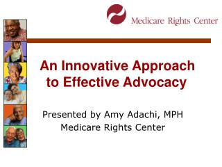 An Innovative Approach to Effective Advocacy