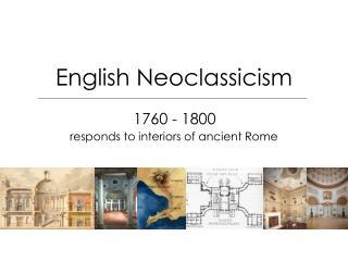 English Neoclassicism