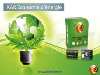 KAR Economie d'énergie