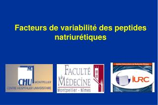 Facteurs de variabilité des peptides natriurétiques