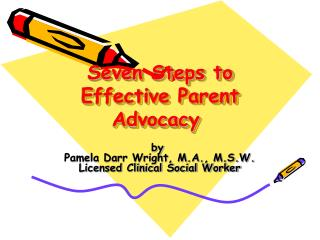 Seven Steps to Effective Parent Advocacy