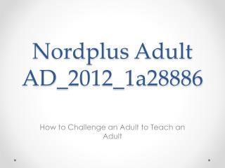 Nordplus Adult AD _2012_1a28886