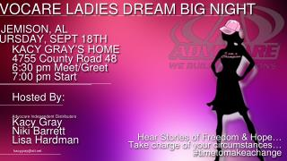 ADVOCARE LADIES DREAM BIG NIGHT