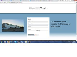 Ouverture de notre magasin de Cherbourg le 01/09/2014