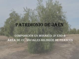 Patrimonio de Jaén