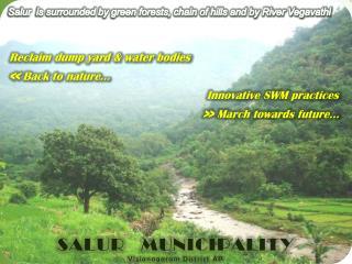 Reclaim dump yard & water bodies  << Back to nature…
