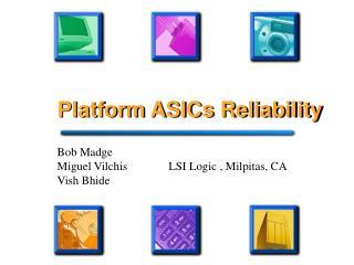 Platform ASICs Reliability