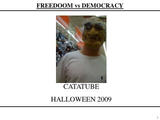 CATATUBE HALLOWEEN 2009