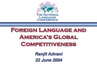Foreign Language and America's Global Competitiveness