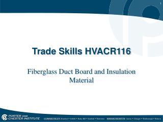 Trade Skills HVACR116