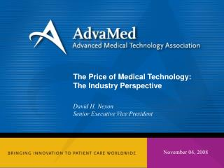 The Price of Medical Technology: The Industry Perspective