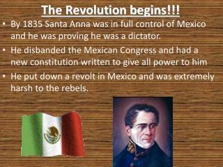 The Revolution begins!!!