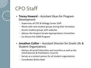 CPO Staff