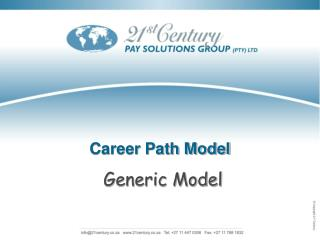 Career Path Model