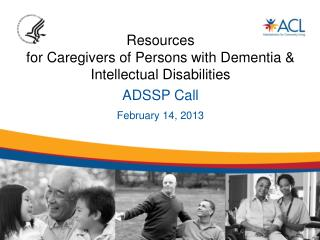 Resources  for Caregivers of Persons with Dementia & Intellectual Disabilities