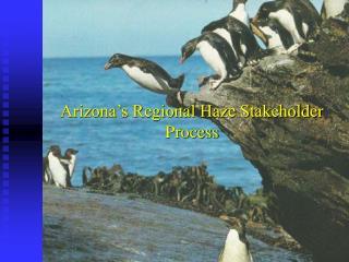Arizona's Regional Haze Stakeholder Process