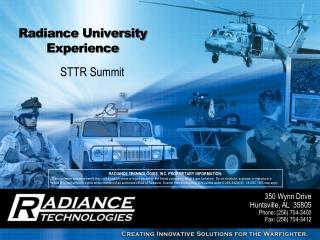 Radiance University Experience