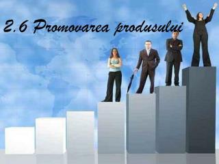 2.6  Promovarea produsului