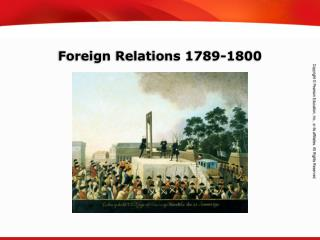 Foreign Relations 1789-1800