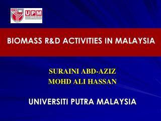 SURAINI ABD-AZIZ MOHD ALI HASSAN  UNIVERSITI PUTRA MALAYSIA