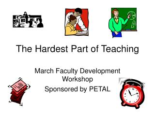 The Hardest Part of Teaching