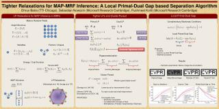 Tighter Relaxations for MAP-MRF Inference: A Local Primal-Dual Gap based Separation Algorithm