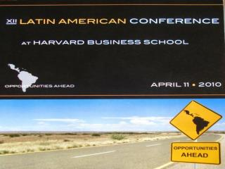 Programa  de l a Conferencia  del domingo 11 de abril de 2011