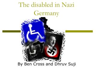 The disabled in Nazi Germany