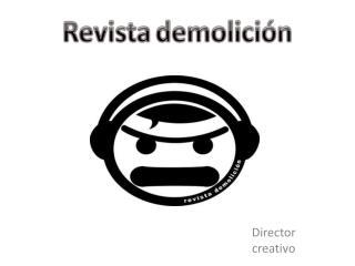 Revista demolición