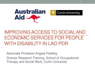 Improving access to social and economic services for people with disability in Lao PDR