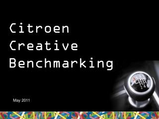 Citroen Creative Benchmarking
