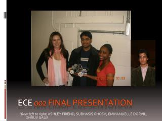 ECE  002 Final presentation