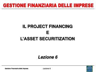 Gestione Finanziaria delle Imprese