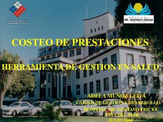 COSTEO DE PRESTACIONES