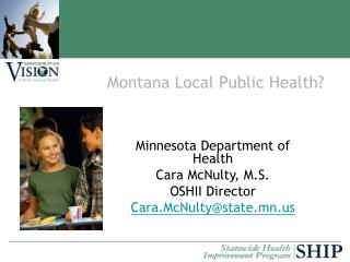 Montana Local Public Health Minnesota Department of Health