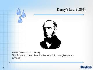 Darcy's Law (1856)
