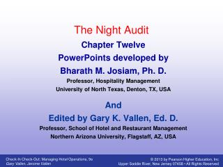 The Night Audit