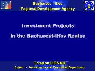 Investment Projects  in the Bucharest-Ilfov Region