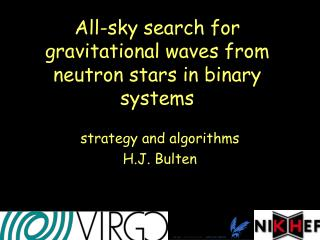 All-sky search for gravitational waves from neutron stars in binary systems