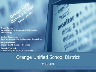 Orange Unified School District