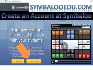 Create an Account at  Symbaloo