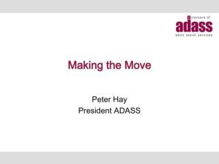 ADASS Spring Seminar President Speech_Web