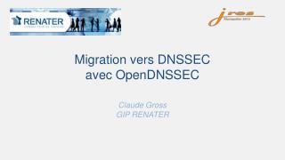 Migration vers DNSSEC avec  OpenDNSSEC
