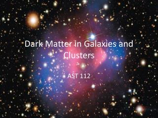 Dark Matter in Galaxies and Clusters