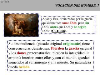 VOCACIÓN DEL HOMBRE, 7