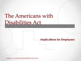 Using the Americans with Disabilities Act