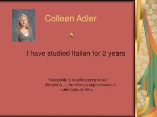Colleen Adler