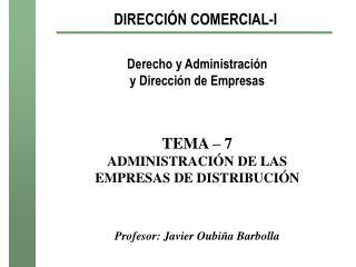 DIRECCI�N COMERCIAL-I