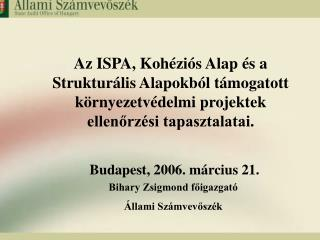 Budapest, 2006. március 21.
