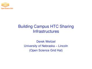 Building Campus HTC Sharing Infrastructures